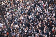 Het gedenkteken van Dink van Hrant in Istanboel Royalty-vrije Stock Afbeeldingen