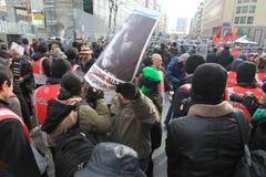 Het gedenkteken van Dink van Hrant in Istanboel Stock Foto