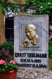 Het gedenkteken van Ernst Thälmann Stock Foto's