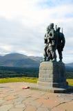 Het Gedenkteken van het commando, Brug Spean Stock Foto