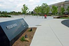 Het gedenkteken van het pentagoon in Washington DC Stock Afbeelding