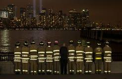 Het gedenkteken van het World Trade Center Royalty-vrije Stock Foto