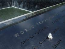 Het Gedenkteken van het World Trade Center Royalty-vrije Stock Afbeelding