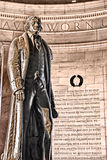 Het Gedenkteken van Jefferson Stock Afbeelding