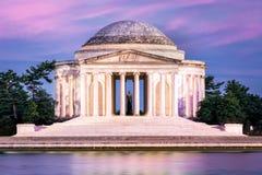 Het Gedenkteken van Jefferson in Washington DC royalty-vrije stock foto's