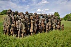 Het gedenkteken van Lidice Royalty-vrije Stock Foto's
