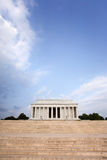 Het gedenkteken van Lincoln, Washington D C stock foto