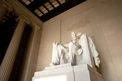 Het gedenkteken van Lincoln, Washington D C Royalty-vrije Stock Afbeelding