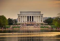 Het Gedenkteken van Lincoln, Washington DC Stock Fotografie