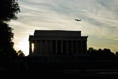 Het Gedenkteken van Lincoln, Washington DC Stock Afbeeldingen