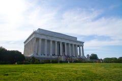 Het Gedenkteken van Lincoln, Washington, gelijkstroom Royalty-vrije Stock Foto