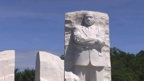 Het Gedenkteken van Martin Luther King Jr stock videobeelden