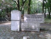 Het gedenkteken van Nowemiasto Stock Foto