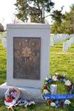 Het gedenkteken van ruimteveereiser, de Nationale Begraafplaats van Arlington Stock Foto