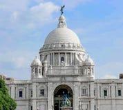 Het gedenkteken van Victoria, Kolkata Stock Foto's