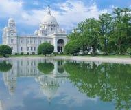 Het gedenkteken van Victoria, Kolkata Stock Afbeeldingen