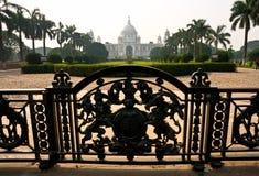 Het Gedenkteken van Victorial, Kolkata. royalty-vrije stock fotografie