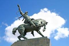 Het gedenkteken van Yulayev van Salawat in Oefa Royalty-vrije Stock Foto