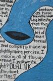 Het Gedicht van Graffiti royalty-vrije stock fotografie