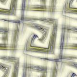 Het geel-blauw maakte naadloze samenvatting in reliëf. Royalty-vrije Stock Foto's