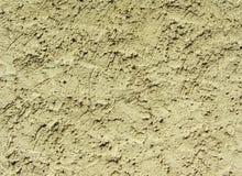 Het is geel cement en concrete muur Royalty-vrije Stock Foto