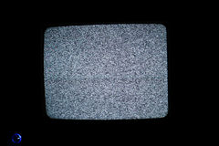Het geen scherm van signaalTV Royalty-vrije Stock Foto's