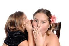 Het Geheim van de zuster stock foto