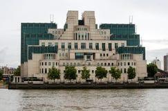 Het geheime Hoofdkwartier van de Dienst, Londen Stock Afbeeldingen