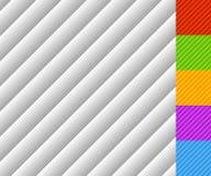 Het gehelde lijnenpatroon met gradiënt vult Elke tegel is naadloos Stock Foto's