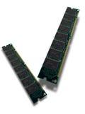 Het geheugen van de computer - SDRAM Stock Afbeeldingen