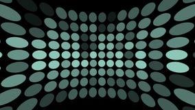 Het gekleurde Punten knipperen vector illustratie