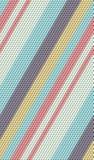 Het gekleurde van het kubussen naadloze patroon 3d teruggeven als achtergrond Stock Foto's