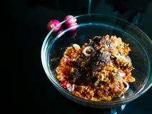 Het gekookte daging perkasam, vergist vlees Stock Fotografie