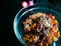 Het gekookte daging perkasam, vergist vlees Royalty-vrije Stock Afbeelding