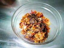 Het gekookte daging perkasam, vergist vlees Royalty-vrije Stock Fotografie