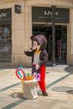 Het gekostumeerde karakter van Disney Mickey Mouse royalty-vrije stock foto