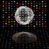 Het gekrabbel van de disco Royalty-vrije Stock Afbeeldingen