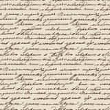 Het gekrabbel van Tolstoy Stock Fotografie