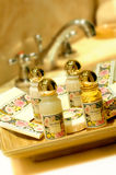 Het gel van de shampoo en van de douche royalty-vrije stock foto