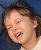 Het gelach van kinderen royalty-vrije stock afbeelding