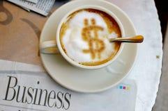 In het geld Royalty-vrije Stock Afbeelding