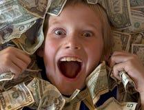 In het Geld Stock Foto's
