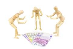Het geld aanbidt 3 Stock Foto