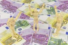 Het geld aanbidt 4 Stock Afbeelding