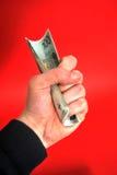 Het geld is de macht Royalty-vrije Stock Foto