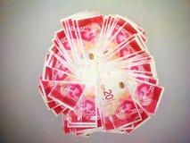 Het Geld De sjekels van Israël Achtergrond behang Rood royalty-vrije stock foto