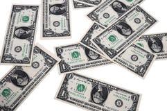 Het geld is overal Royalty-vrije Stock Foto's