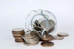 Het geld van de besparing Royalty-vrije Stock Foto's