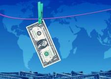 Het geld van de besparing royalty-vrije illustratie