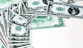 Het geld van de euro en van de dollar royalty-vrije stock fotografie